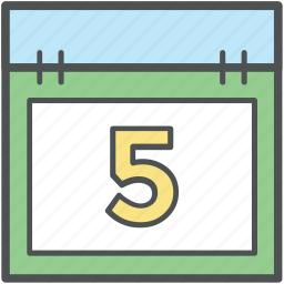 calendar, date, day, event, schedule, timeframe, yearbook icon