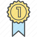 award, award badge, award ribbon, award seal badge, badge, banner, ribbon icon