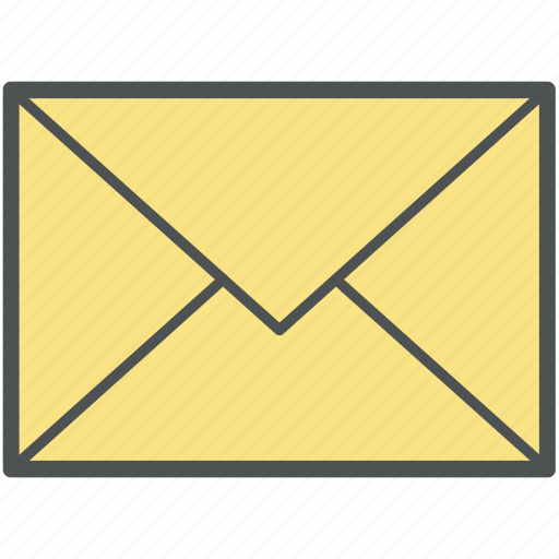 correspondence, email, envelope, inbox, letter, mail, mailbox icon