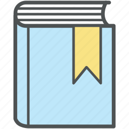 book, bookmark, education, encyclopedia, literature, reading, study, wikipedia icon