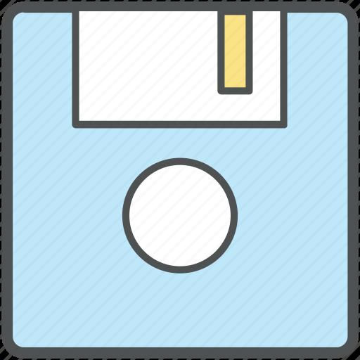 computer hard drive, floppy, floppy disk, floppy drive, hardware, memory disk, storage device icon