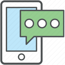 chat, chatting, communication, conversation, mobile communication, speech bubble, talk icon