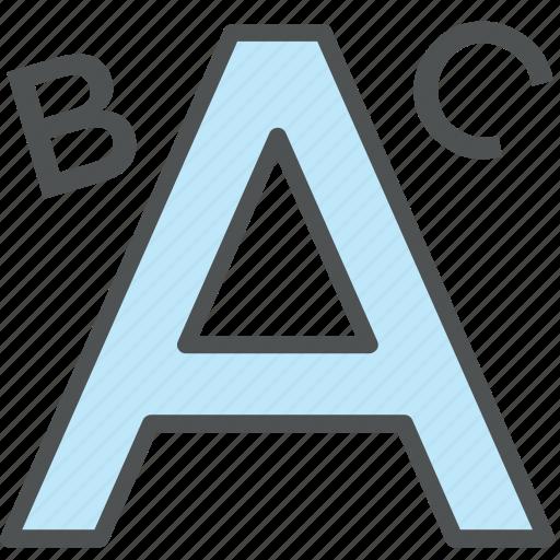 abc, abc letters, alphabets, learning, letters, preschool, school icon