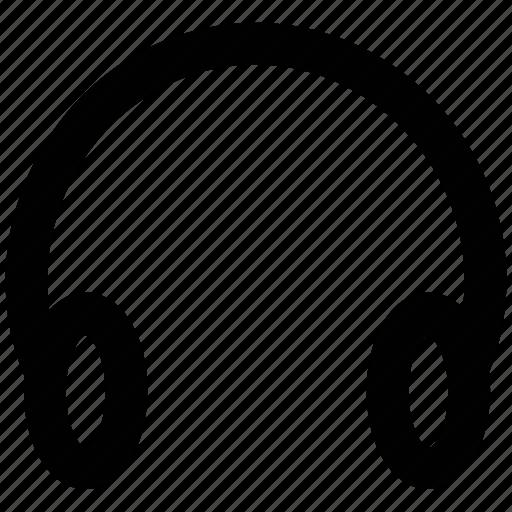 audio, earphone, headphone, headset, listening, sound icon
