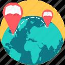 global, globe, earth, international, distance learning, learning, location