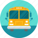 bus, lorry, road, school, truck, van, vehicle icon
