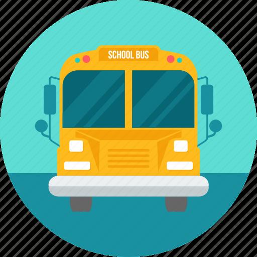 bus, lorry, road, school, truck, van, vehicle icon