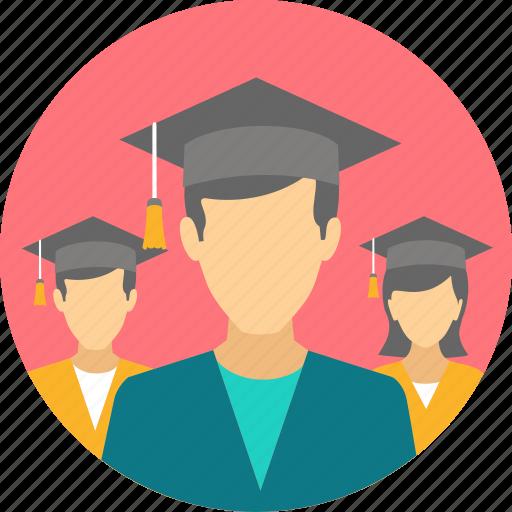 certificate, degree, diploma, graduate, graduation, hat, scholar icon