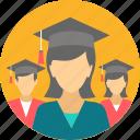 graduate, graduation, rank, scholar, university, certificate, diploma