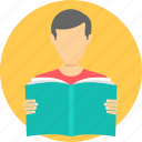 homework, learn, learning, library, read, student, study icon