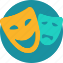 costume, cover, disguise, ghost, halloween, mask, skull icon