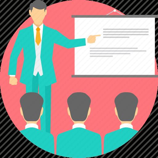 blackboard, class, classes, teach, teacher, teaching, whiteboard icon