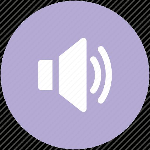audio, loud, music, sound, speaker, volume icon