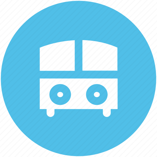 autobus, bus, coach, motorbus, school bus, transport, vehicle icon