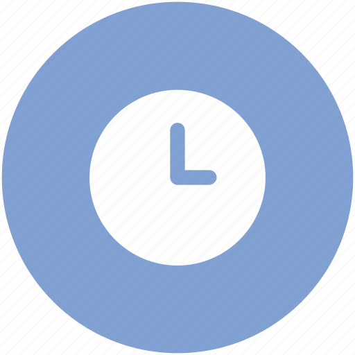 clock, round clock, time, time keeper, timer, wall clock, watch icon