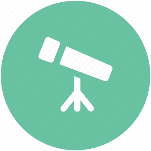 astronomy, planetarium, search, spyglass, telescope, vision icon