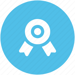 achievement, award medal, medal, prize, reward ribbon, ribbon badge icon
