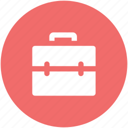 bag, book bag, briefcase, business bag, documents bag, official bag, portfolio icon