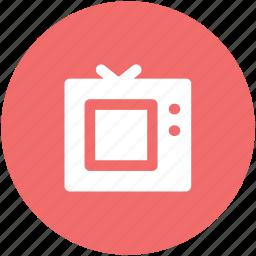electronics, retro tv, television, television set, tv, tv set icon