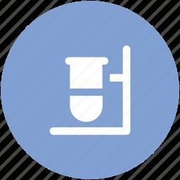 culture tube, lab accessory, lab glassware, sample tube, test tube icon