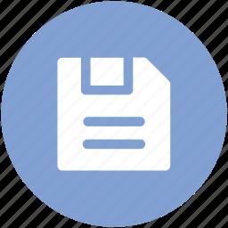 computer drive, floppy, floppy disk, floppy drive, hardware, memory disk, storage device icon
