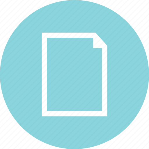 contract, document, layout, page icon