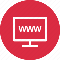 monitor, online, web, website, www icon