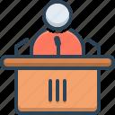 conference, presentation, speaker, speech