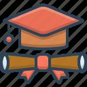 certificate, degree, education, gradute
