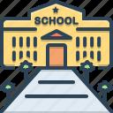 building, education, park, school