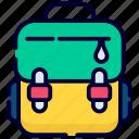 bag, school bag, backpack, school, education, study