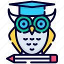wisdom, owl, education, school, learning, study, university