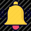 bell, alarm, alert, notification, attention, warning