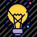 physics, molecular, bulb, science, light, idea, laboratory