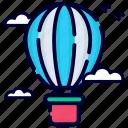 hot air balloon, flying, flight, aircraft, aviation, fly, travel