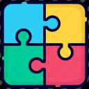 puzzle, solution, idea, creative, business, finance