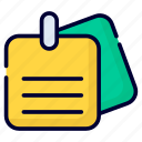 sticky notes, remind, attach, notice, attachment, paperclip, clip