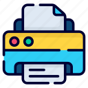 printer, print, printing, paper, document, business, finance
