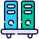 shelf, shelve, interior, office, files, business