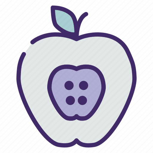 apple, education, fruit, health, idea icon