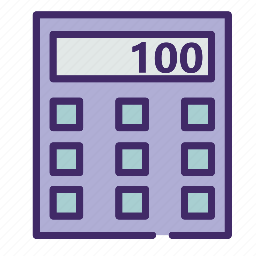 calculator, count, device, math, number icon
