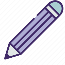 draw, note, pencil, school, tool, write icon