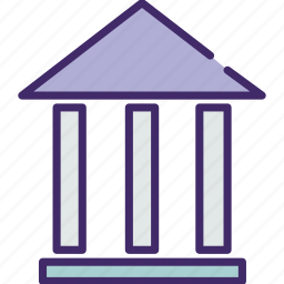 building, college, education, school, sudy, university icon