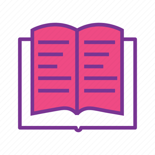 book, bookmark, education, learning, library, study icon