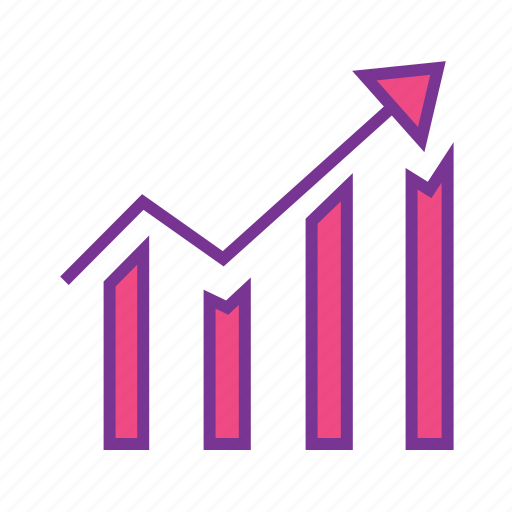 analytics, bar chart, dashboard, finance, report, statistics icon