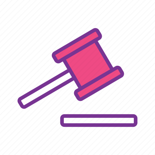 aution, court, hammer, judge, judgement, justice, law icon