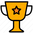 achievement, cup, education, prize, study, trophy, victory, winner icon