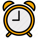 alarm, clock, education, schedule, school, time icon
