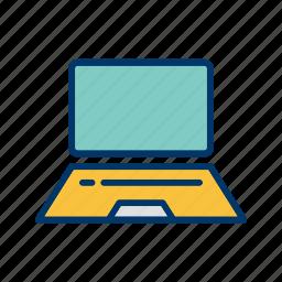 communication, device, laptop, mac, macbook, screen, technology icon
