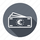 bills, cash, euro, finance, money